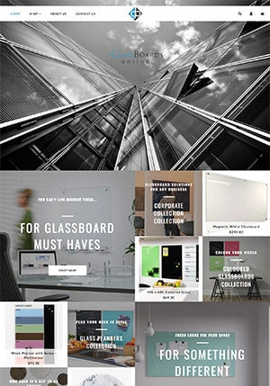 Glass Boards Online