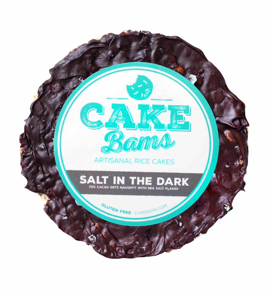 Hot Flavor Alert: Dark Chocolate Sea Salt Frosted Rice Cakes