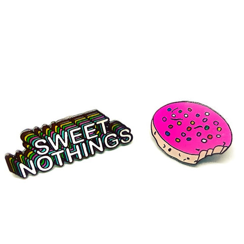 Sweet Nothings Enamel Pin