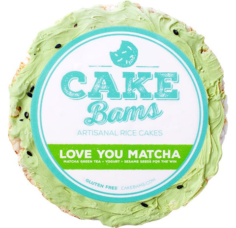 Rice Cake - Love You Matcha - Dozen