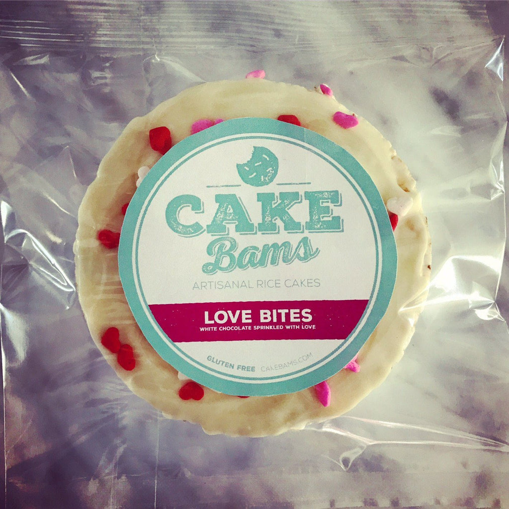 Rice Cakes - Love Bites (4 Pack) Limited Time Only