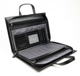 #812 Black, Petek 1855 Briefcase