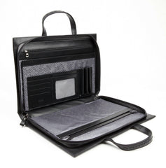 #812 Gloss Black, Petek 1855 Briefcase