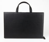 #812 Natural Black, Petek 1855 Briefcase