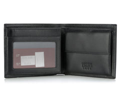 279, Petek 1855, Solid Black, Wallet With Coin Purse
