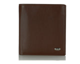 227, Petek 1855, Compact Wallet With Coin Purse, Men's Leather Wallet