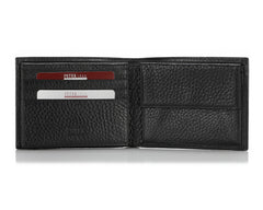 131, Petek 1855, Black 046, Men's Large Leather Wallet