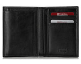 269, Petek 1855, Solid Black, Slim Wallet