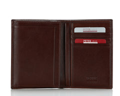 269, Petek 1855,  Solid Brown, Slim Wallet