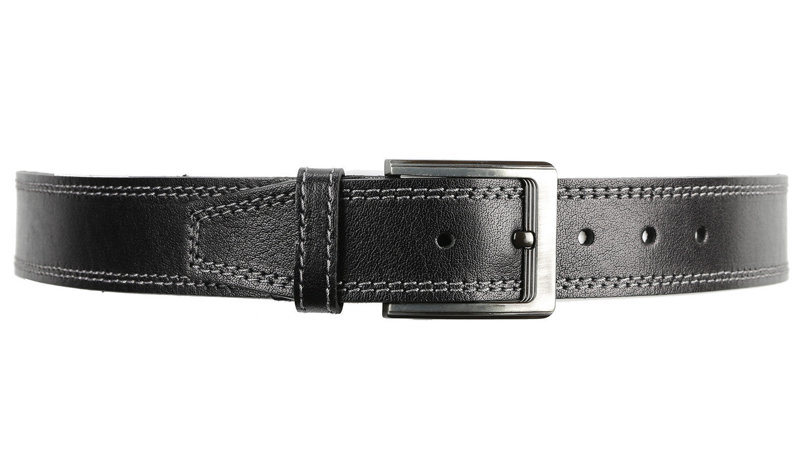 Guard #3245 45mm Black, Every Day, Water-Buffalo Leather Belt