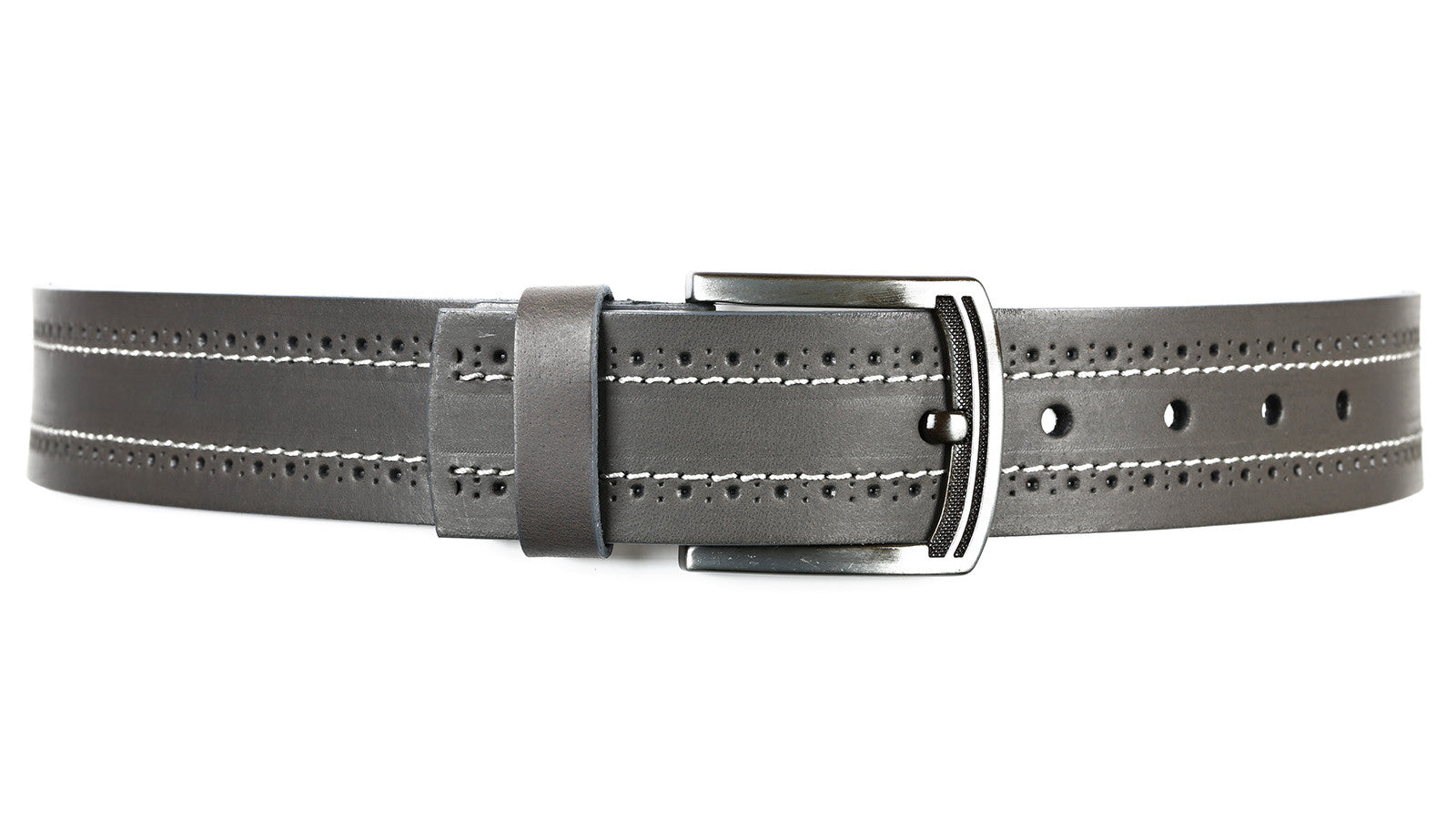 Guard #3302 45mm, Grey, Every Day, Water-Buffalo Leather Belt