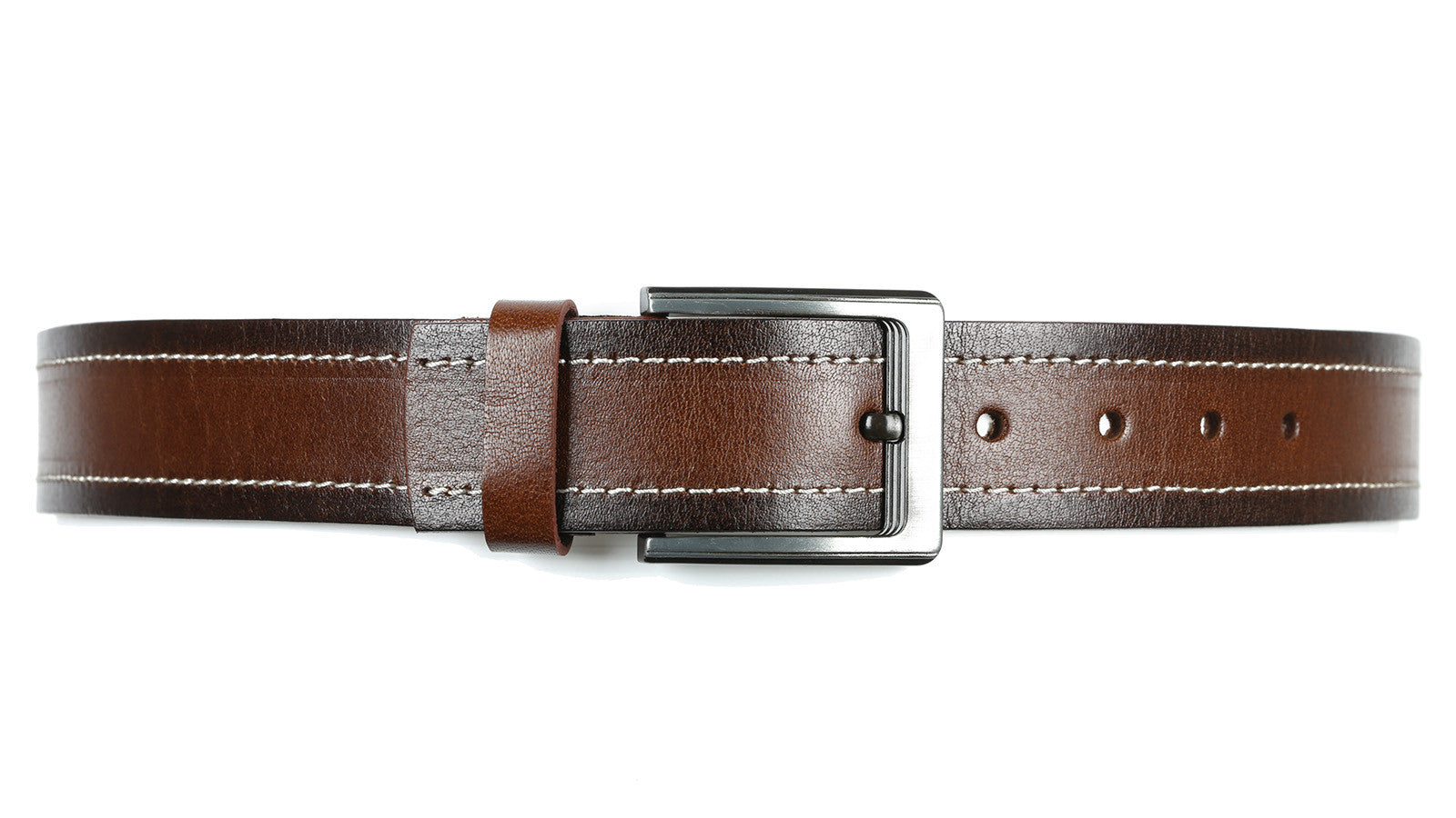 Guard #3245 45mm, Two-Tone Brown, Every Day, Water-Buffalo Leather Belt