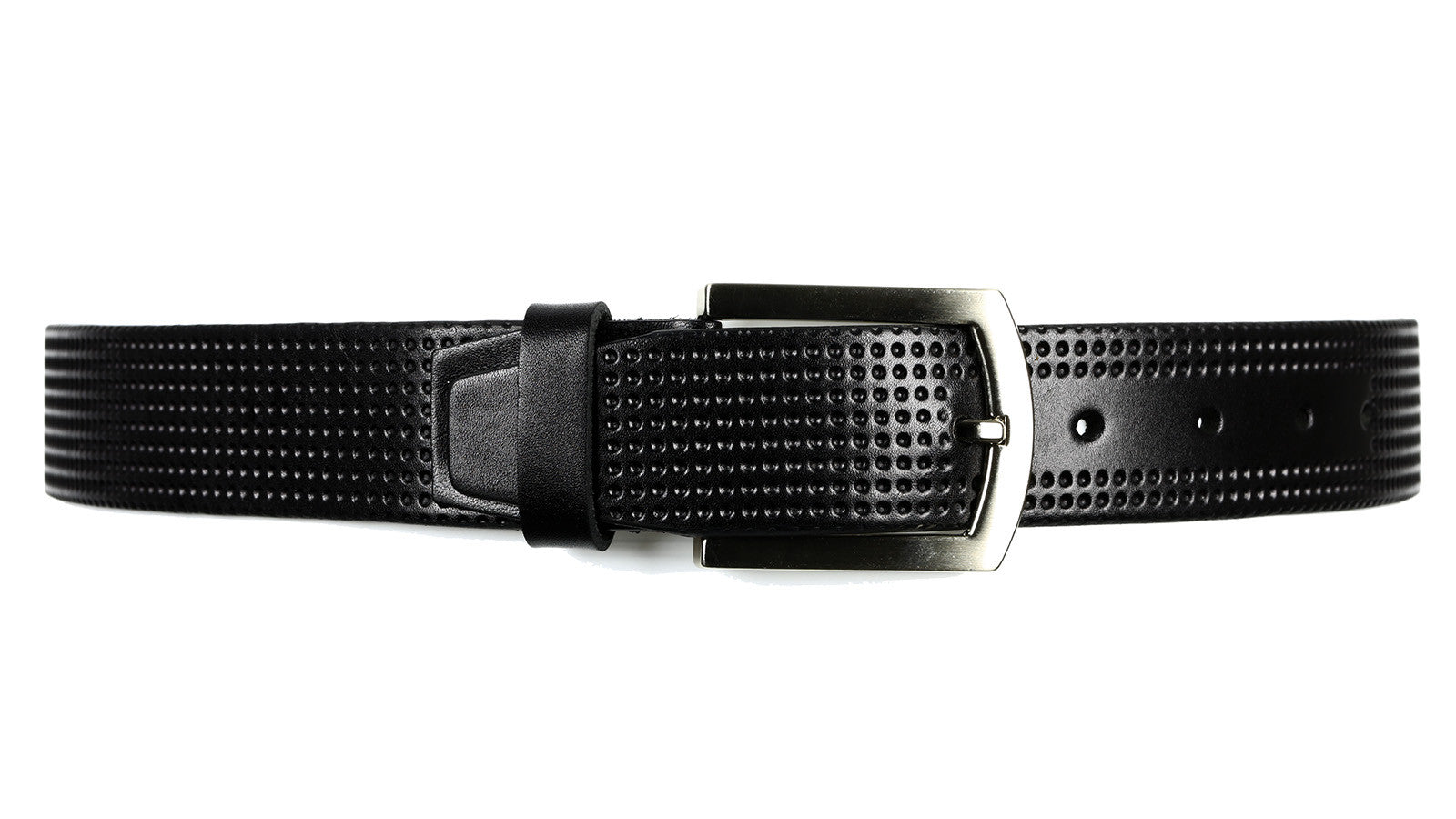 Guard #2166 40mm Black Cowhide Every Day Or Dress Belt