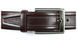 Guard #1303 35mm Dark Brown Cowhide Dress Belt