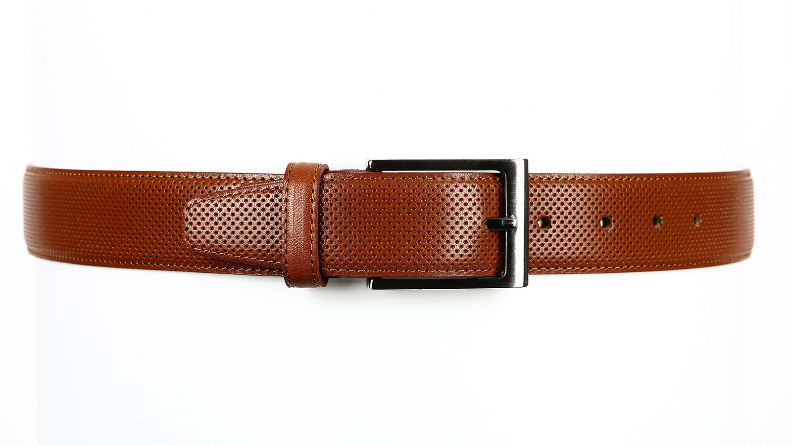 Guard #1296 35mm Tuscany Brown Cowhide Dress Belt