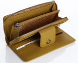 460 Yellow  Clutch Wallet, Petek 1855