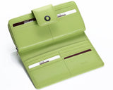 460 Sharp Green  Clutch Wallet, Petek 1855