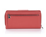 460 Pomegranate  Clutch Wallet, Petek 1855
