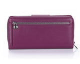 460 Purple  Clutch Wallet, Petek 1855