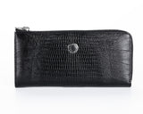 476 Crocodile Black, Petek 1855 Women's Leather Wallet