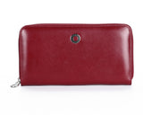 397 Solid Red, Petek 1855 Women's Leather Wallet