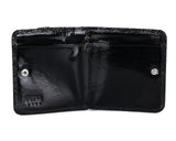 355 Gloss Print Black, Petek 1855 Women's Leather Wallet