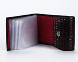 1114, Burgundy Card Holder