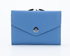 308 Blue, Petek 1855 Women's Leather Wallet