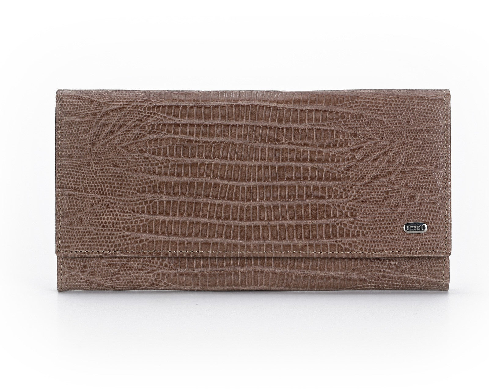 379 Crocodile Somon, Petek 1855 Women's Leather Wallet