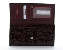 379 Burgundy, Petek 1855 Women's Leather Wallet