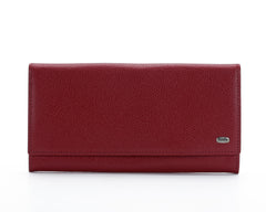 379 Red, Petek 1855 Women's Leather Wallet