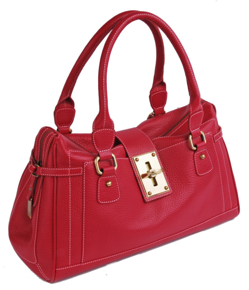 #4176 Red, Petek 1855 Ladies Handbag
