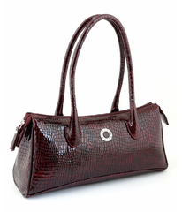 #4005 Petek 1855, Burgundy, Ladies Handbag
