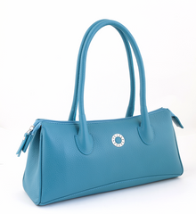 #4005 Petek 1855, Light Blue, Ladies Handbag