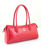 Petek 1855, Model: 4005, Red, Luxury Leather Handbag, Front