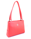 Petek 1855 Model: 4016, Pomegranate, Luxury Leather Handbag, Front