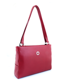 Petek 1855 Model: 4016, Red, Luxury Leather Handbag, Front