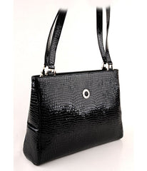 #4077 Petek 1855, Black, Ladies Handbag