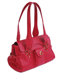 #4149 Red, Petek 1855 Ladies Handbag