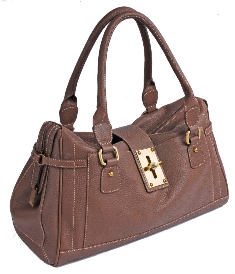 #4176 Brown, Petek 1855 Ladies Handbag