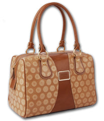#4124 Brown, Petek 1855 Ladies Handbag
