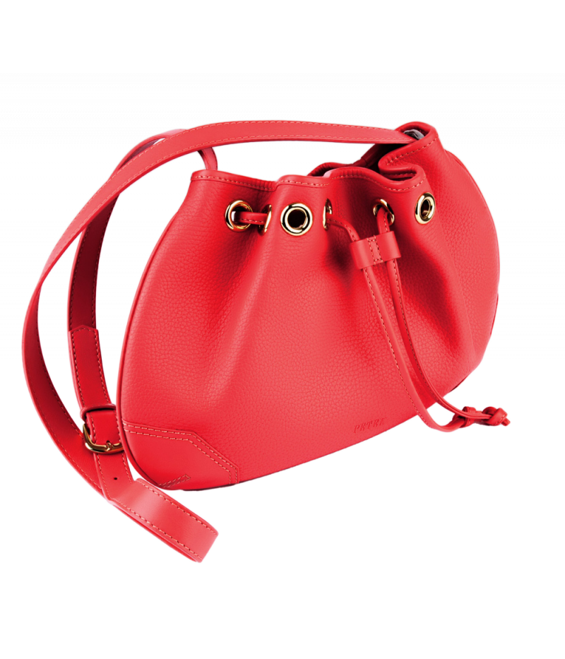 #4245 Petek 1855, Red, Ladies Shoulder Bag