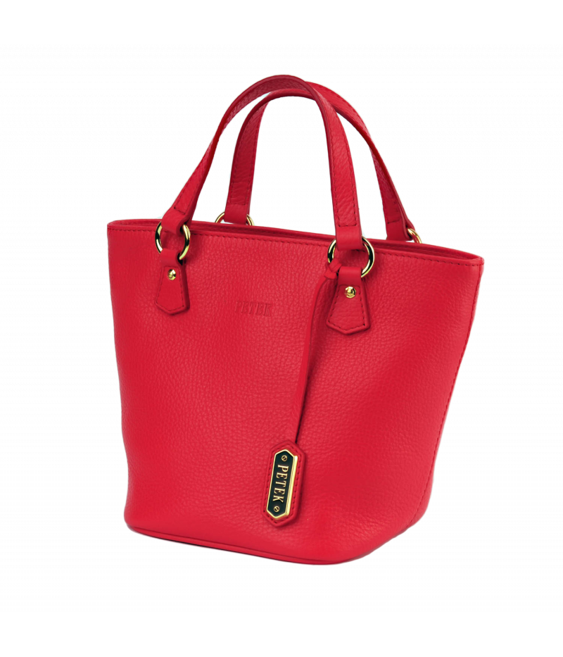 #4246 Petek 1855, Red, Ladies Handbag