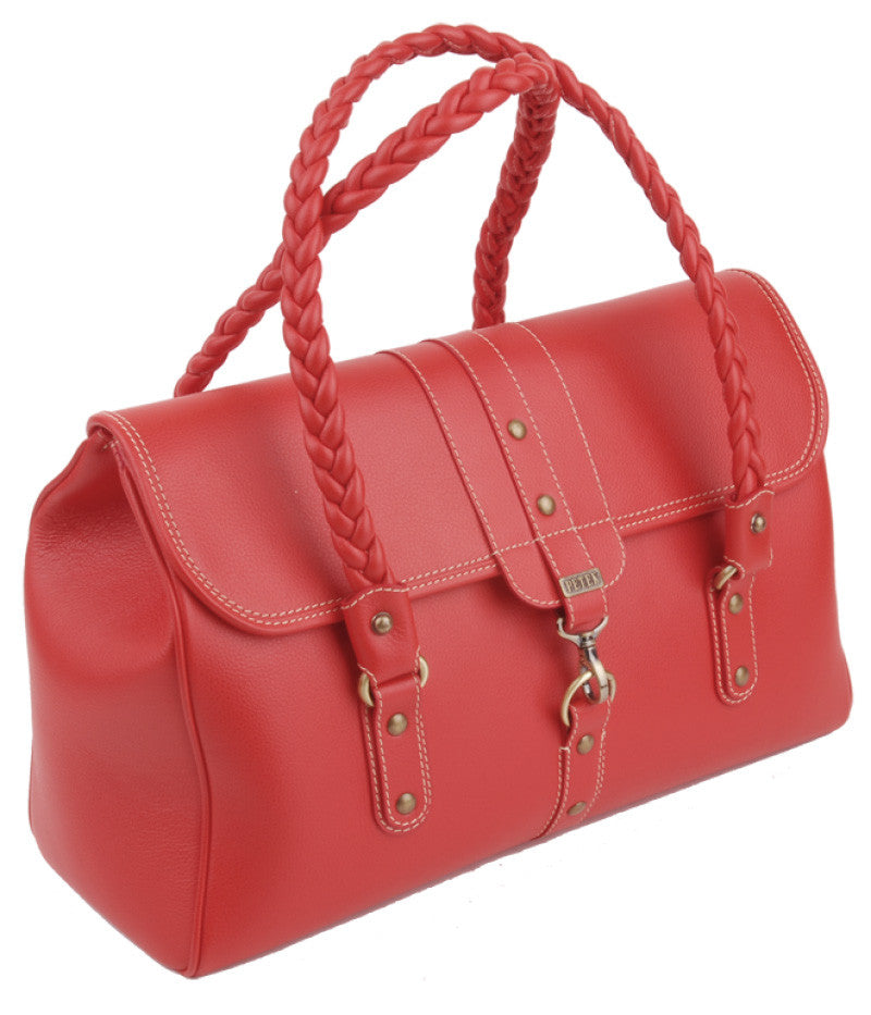#4187 Red, Petek 1855 Ladies Handbag