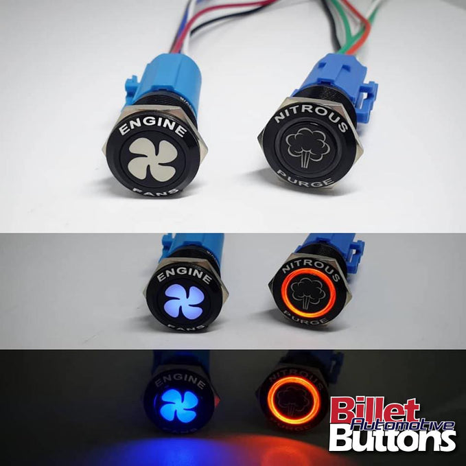 NEW Backlit 19mm buttons - Comparing the 2x different 19mm buttons now available!