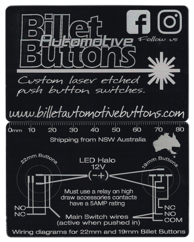 billet button wiring diagram wiring diagrams 19mm and 22mm Switch Outlets Diagram billet button 19mm and 22mm wiring diagrams