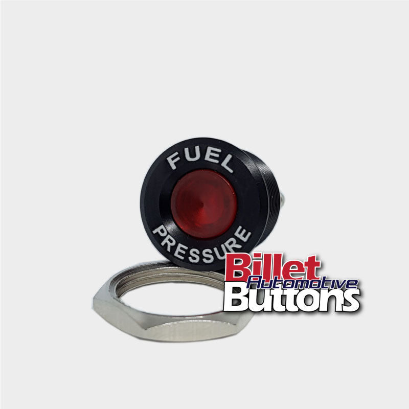 16mm 'FUEL PRESSURE' LED Pilot / Warning Light Small Compact 12V