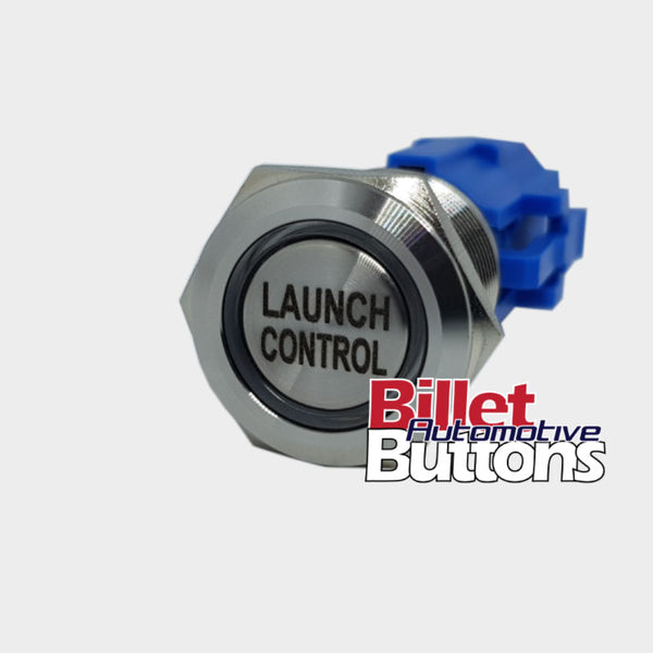 19mm 'LAUNCH CONTROL' Billet Push Button Switch 2 Step Anti Lag etc