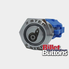 19mm FEATURED '2 STEP' Billet Push Button Switch Launch Control 2step turbo flame