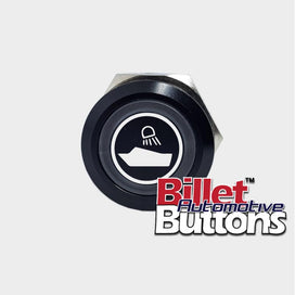 22mm 'ARCH LIGHT REAR SYMBOL' Billet Push Button Switch Marine